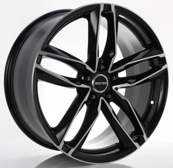 GMP Dedicated Atom 10x21 5/130 ET 45 black diamond