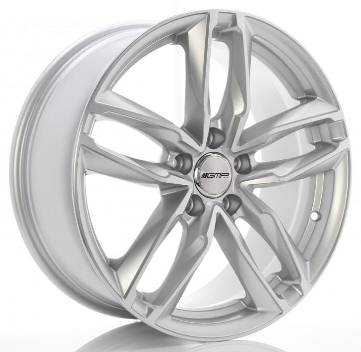 GMP Dedicated ATOM 10x21 5/130 ET 45,00 Silver polished