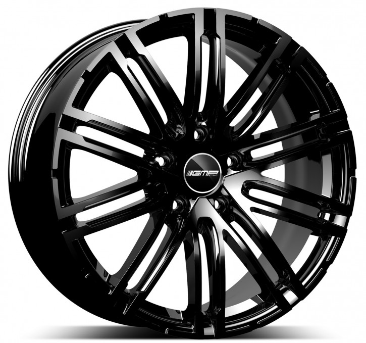 GMP Dedicated Targa 11x20 5/130 ET 70 Black shiny