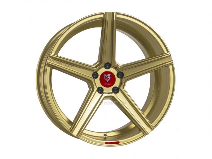 mbDESIGN KV1 9.0x20 5/110 ET 35 Gold glänzend