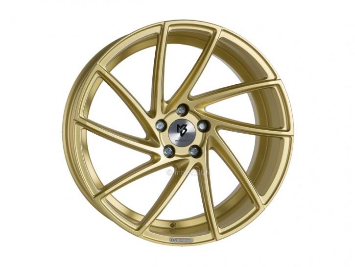 mbDESIGN KV2 9.0x20 5/108 ET 42 Gold glänzend