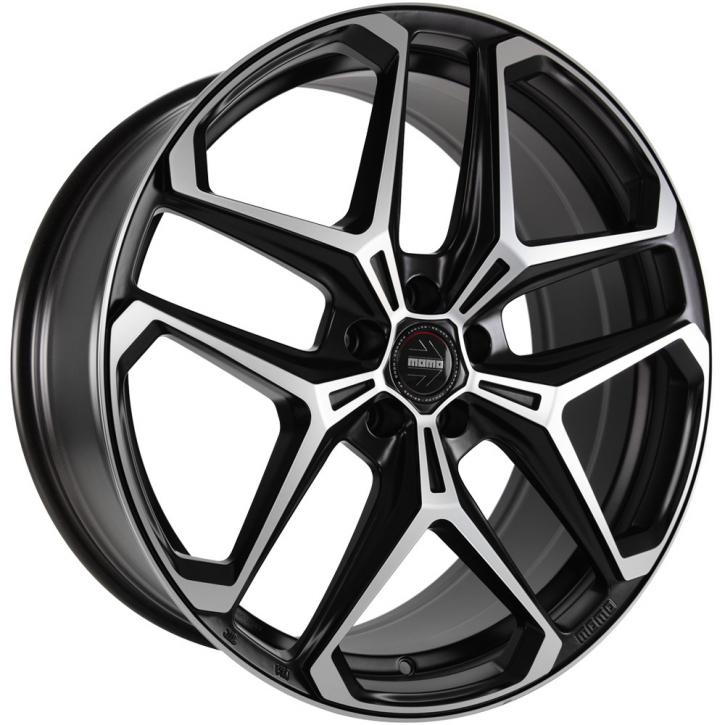 MOMO RF04 9x20 5/112 ET 26 Black matt polish