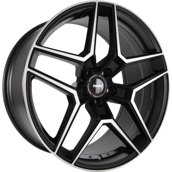 MOMO RF06 8,5x20 5/120 ET 35 Black matt polish