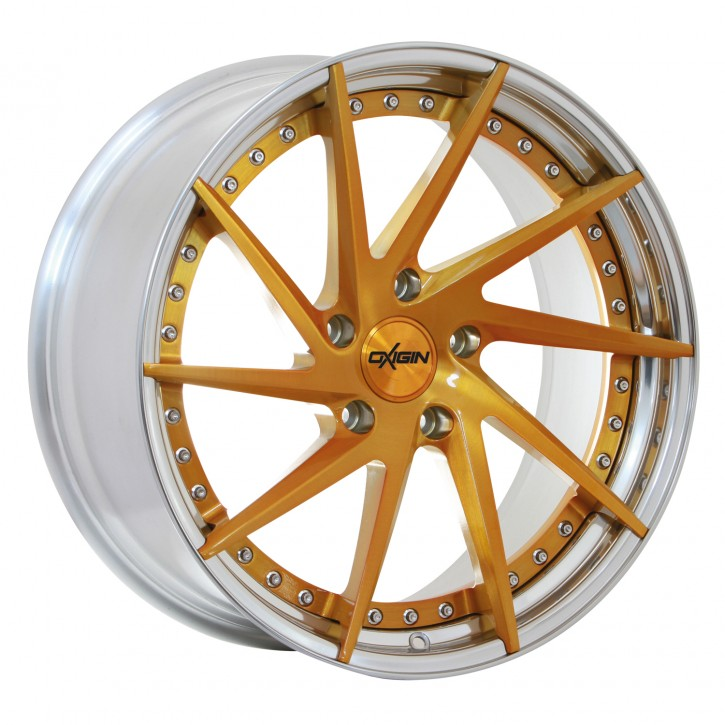 OXIGIN MP1 9,00x20 5/108,00 ET 35 colour star, polish rim