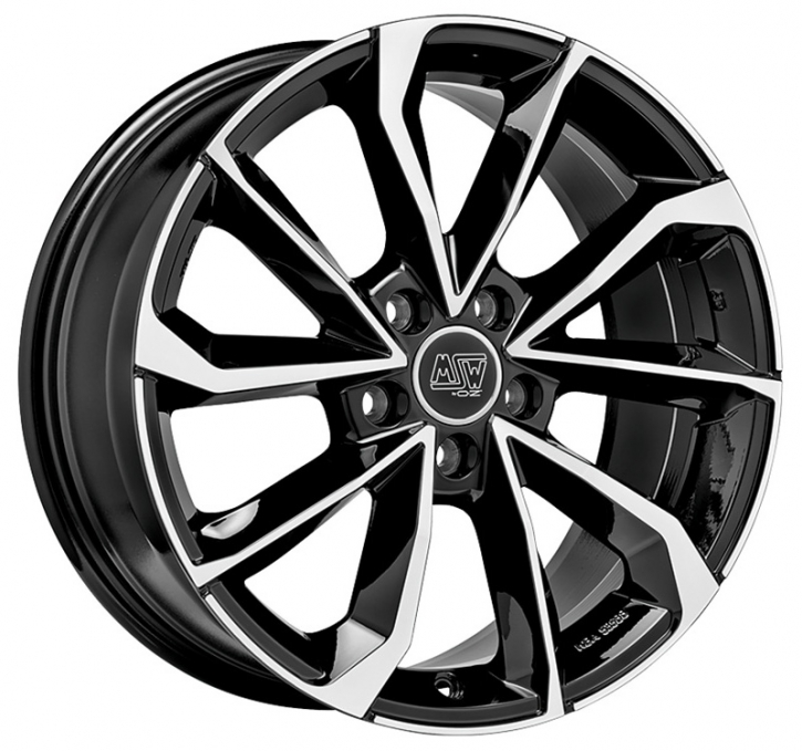 MSW 42 8x18 5/114,3 ET 30 GLOSS BLACK FULL POLISHED