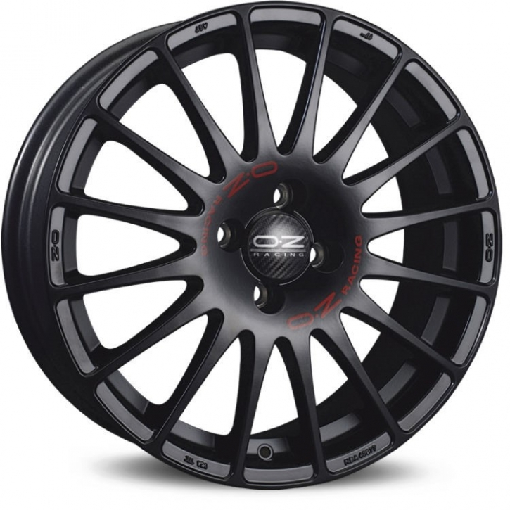 OZ SUPERTURISMO GT 7x16 5/105 ET 35 MATT BLACK