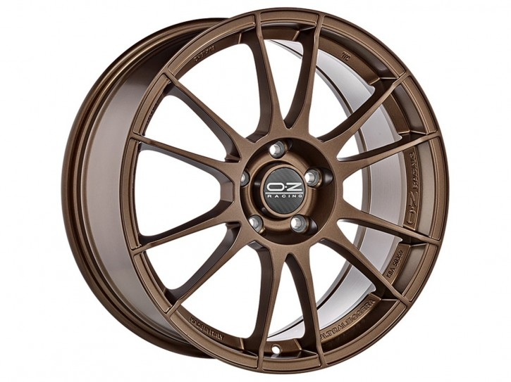 OZ ULTRALEGGERA 7x17 4/108 ET 42 MATT BRONZE
