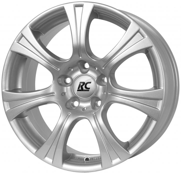RC Design RC15T 6.5x16 6/139,7 ET 46 Kristallsilber (KS)