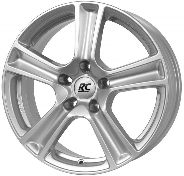 RC Design RC19 6.5x16 4/114,3 ET 44 Kristallsilber (KS)