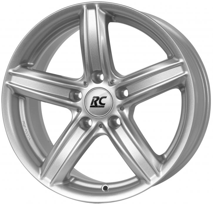 RC Design RC21 7x16 5/120 ET 34 Kristallsilber (KS)