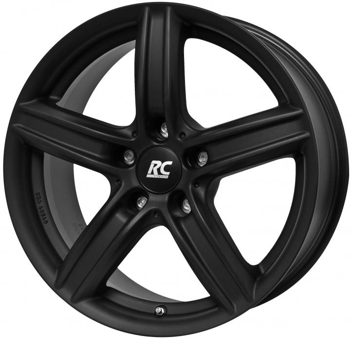 RC Design RC21 7.5x17 5/120 ET 52 Schwarz Klar Matt (SKM)