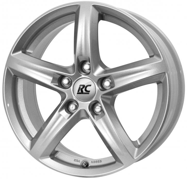 RC Design RC24 6x15 5/105 ET 39 Kristallsilber (KS)