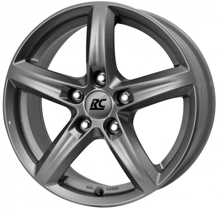 RC Design RC24 6x15 5/105 ET 39 Titan Metallic ( TM)