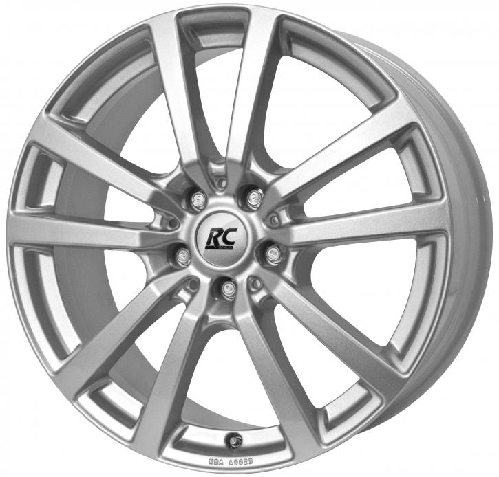 RC Design RC25T 6.5x16 5/118 ET 48 Kristallsilber (KS)