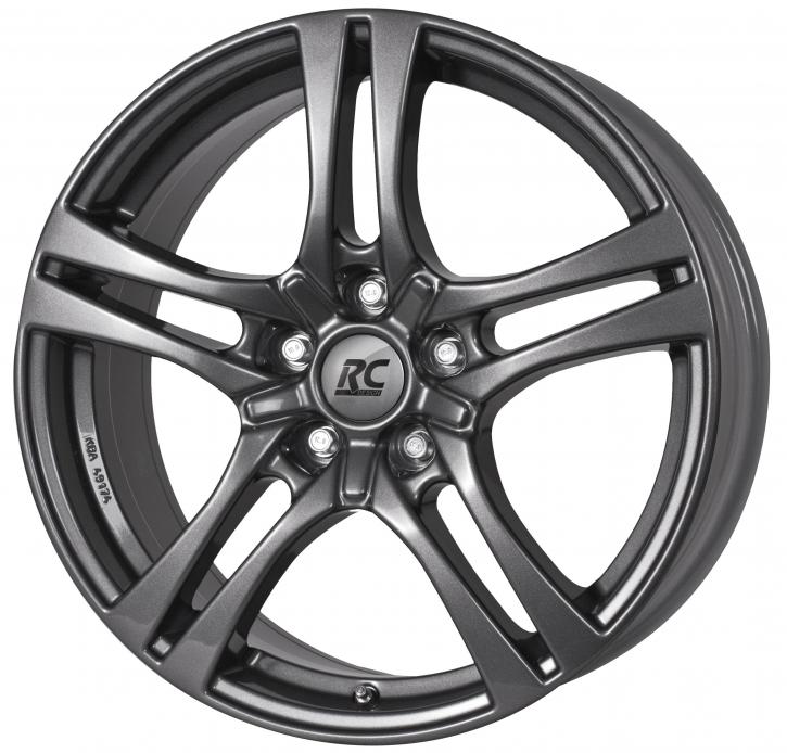 RC Design RC26 7.5x18 5/105 ET 42 Titan Metallic ( TM)