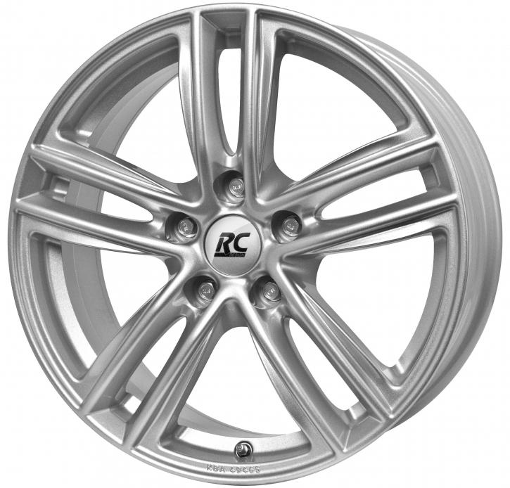 RC Design RC27 7.5x17 5/105 ET 44 Kristallsilber (KS)