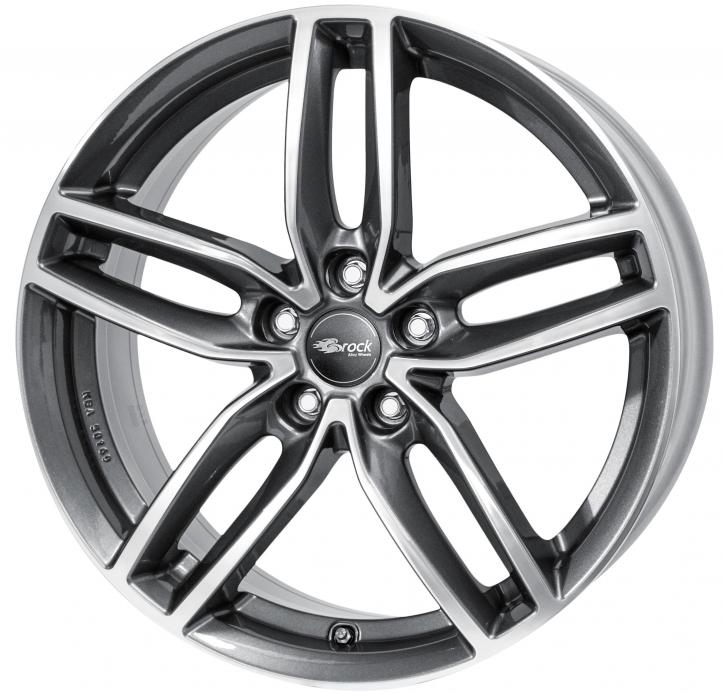 RC Design RC29 8x18 5/114,3 ET 35 Himalaya Grey Voll-Poliert (HGVP)