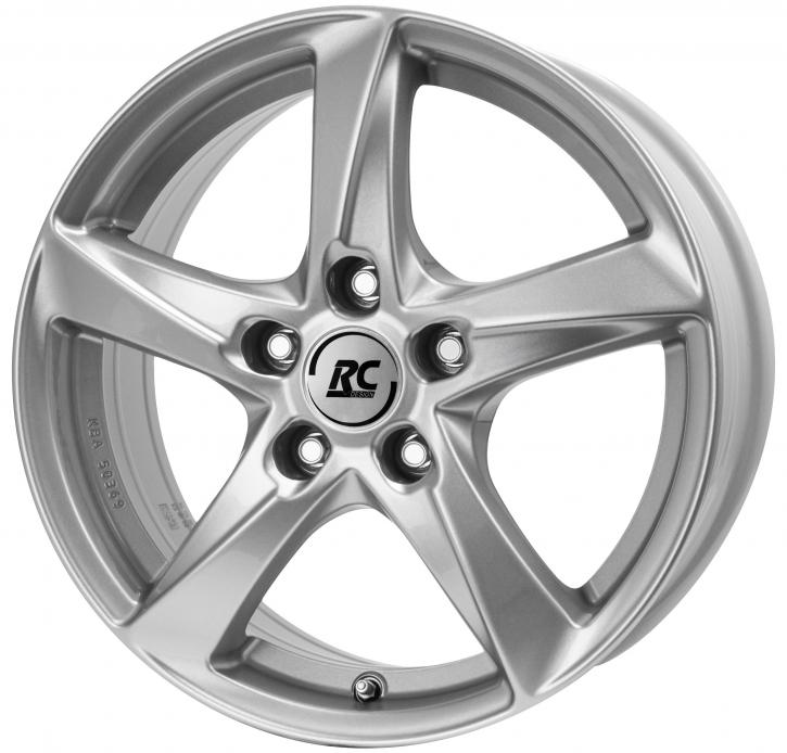 RC Design RC30 6.5x16 5/105 ET 38 Kristallsilber (KS)