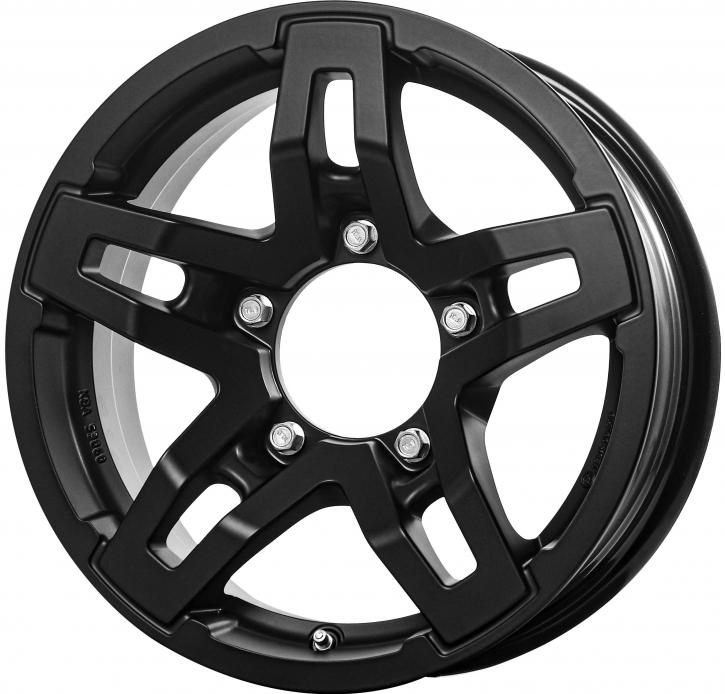 RC Design RC33X 5.5x15 5/139,7 ET 5 Satin Black Matt (SBM)