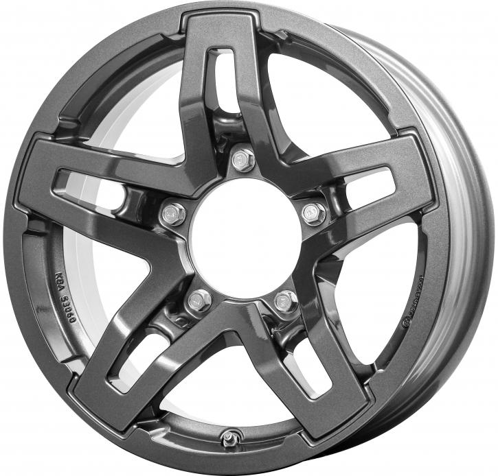 RC Design RC33X 5.5x15 5/139,7 ET 5 Titan Metallic ( TM)