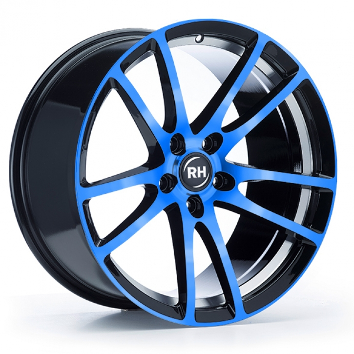 RH BO Flowforming 8,5x19 5/108 ET 45 color polished - blue