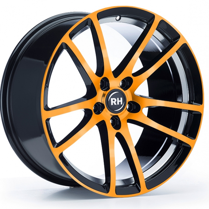 RH BO Flowforming 8,5x19 5/108 ET 45 color polished - orange