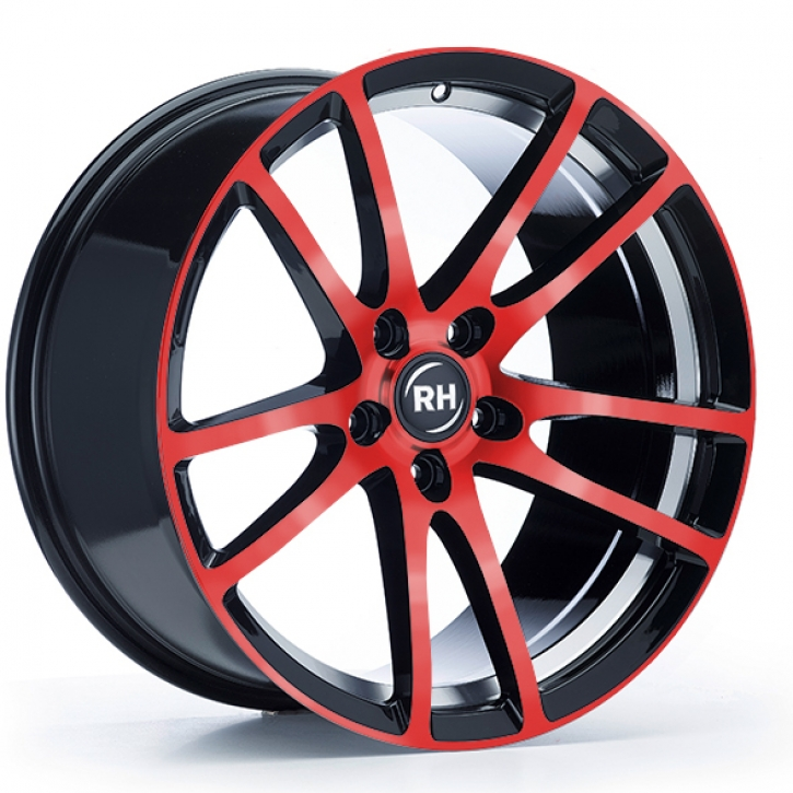 RH BO Flowforming 8,5x19 5/108 ET 45 color polished - red