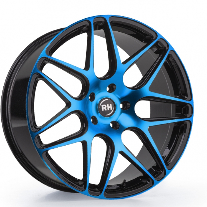 RH RB11 9x20 5/114 ET 35 color polished - blue