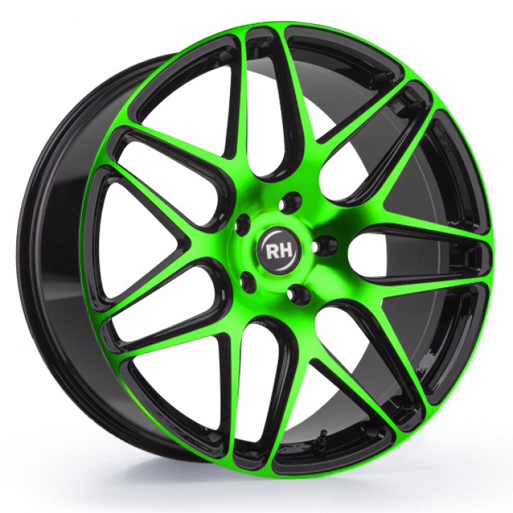 RH RB11 9x20 5/127 ET 50 color polished - green