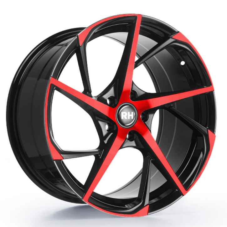 RH RB12 9,5x19 5/120 ET 40 color polished - red