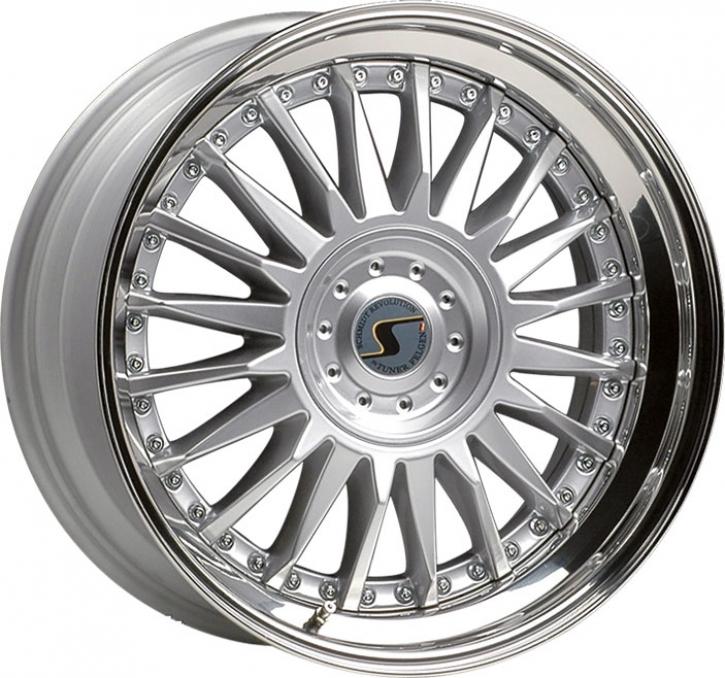 Schmidt CC-Line 10x22 5/120,65 ET +35 Highgloss Silber
