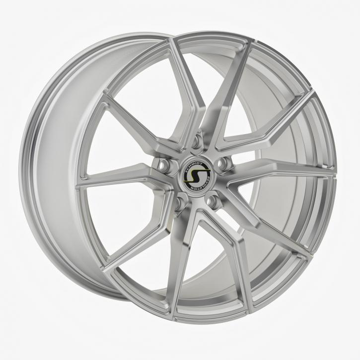 Schmidt Drago 9x20 5/128 ET +42 Highgloss Silber
