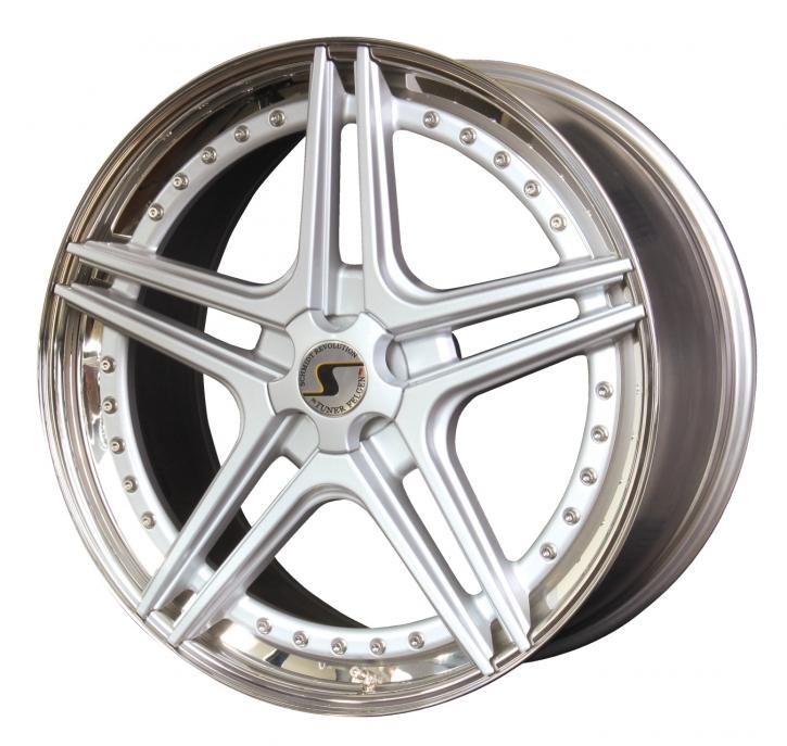 Schmidt FS-Line 10x19 5/120,65 ET +54 Highgloss Silber