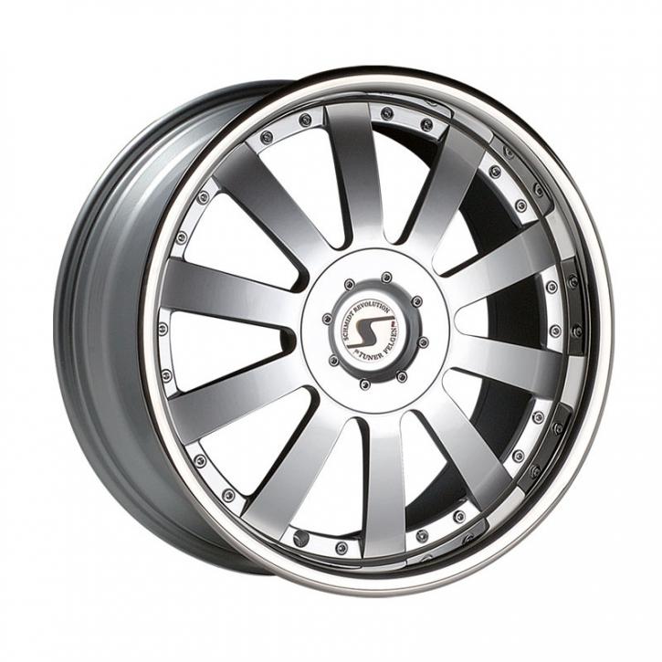 Schmidt Jack-Line 8.5x19 5/114,3 ET +45 Highgloss Silber