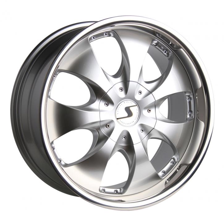 Schmidt Rhino 9x20 6/139,7 ET +20 Highgloss Silber