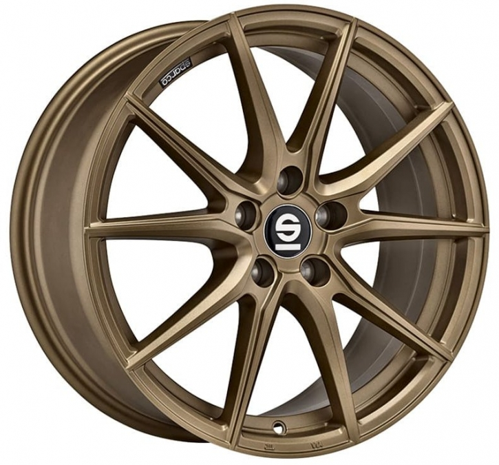 Sparco DRS 8x18 5/114,3 ET 40 RALLY BRONZE