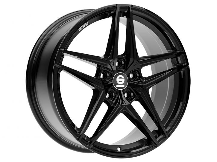 Sparco RECORD 8x18 5/114,3 ET 45 GLOSS BLACK