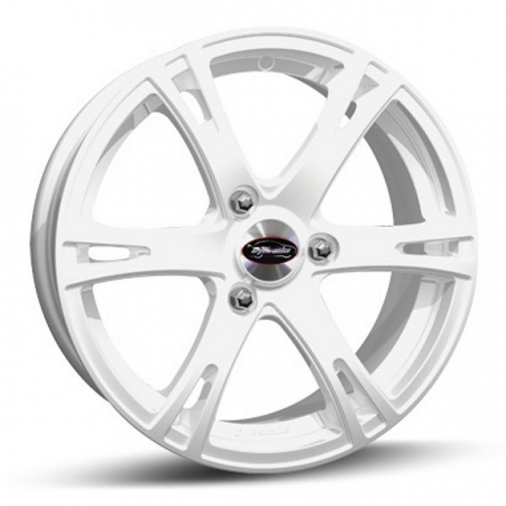 Team Dynamics SMARTIE 6x16 3/112 ET 32 Gloss-White (Glanzweiss)