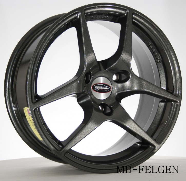 Team Dynamics EAGLE 7,5x16 3/112 ET 32 Gloss-Anthracite (Glanzanthrazit)