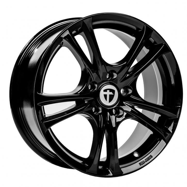 Tomason Easy 7,5x17 5/105 ET 42 Black Glossy