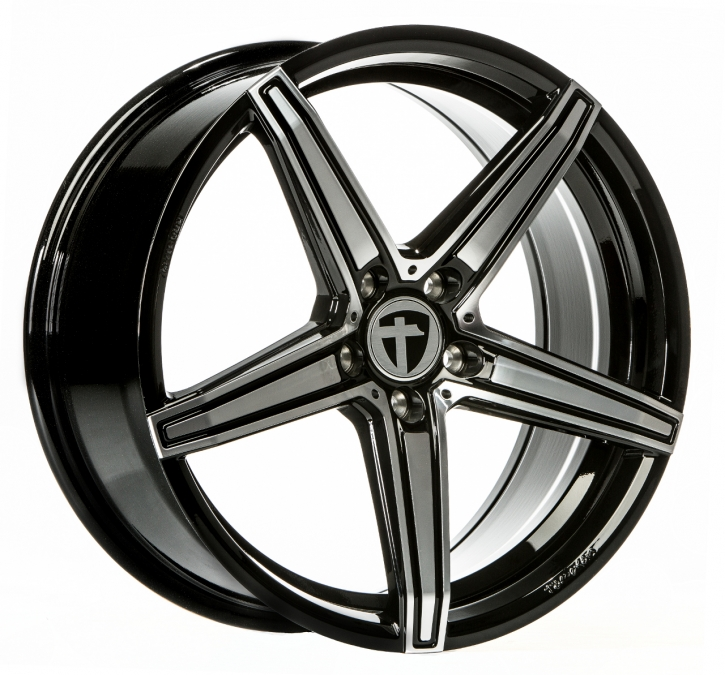 Tomason TN20 8,0x18 5/114.3 ET 45 Dark Hyper black polished