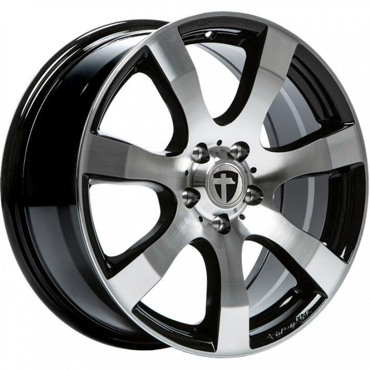 Tomason TN3F 6,5x15 5/118 ET 60 black polished