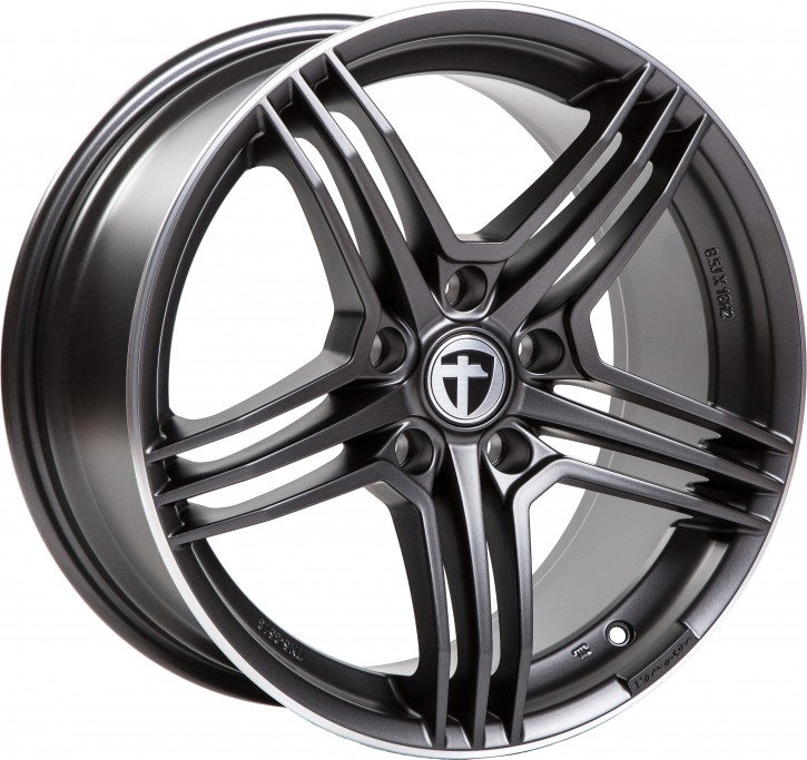 Tomason TN5 8,5x18 5/120 ET 35 GunMetal RimPolished
