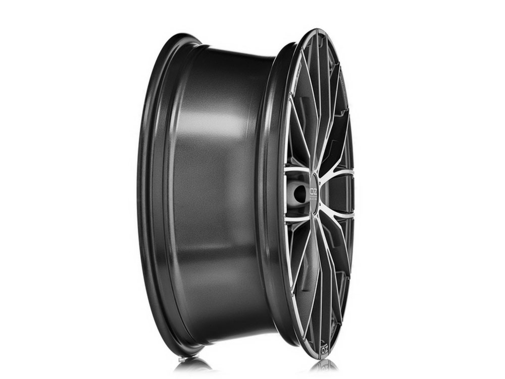 oz italia 150 8x19 5 120 et 29 matt dark graphite poliert. Black Bedroom Furniture Sets. Home Design Ideas