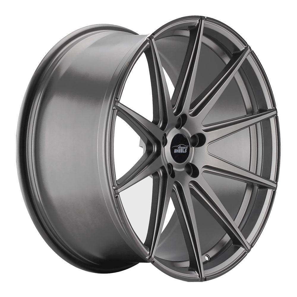elegance wheels e 1 deep concave 10 5x21 5 114 3 et 45 matt gunmetal 10521fk114573151143mgmg. Black Bedroom Furniture Sets. Home Design Ideas