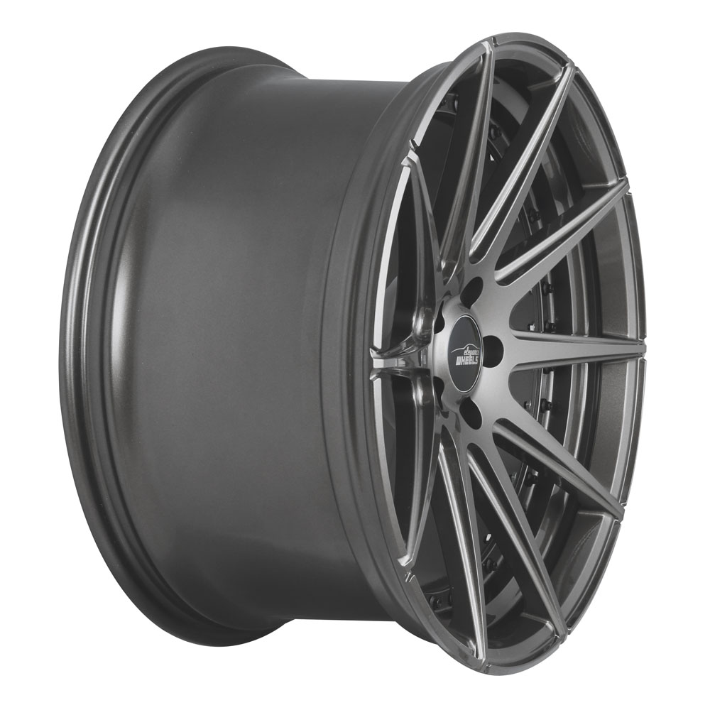 elegance wheels e 1 deep concave 10 5x20 5 120 et 35 matt gunmetal split rim. Black Bedroom Furniture Sets. Home Design Ideas