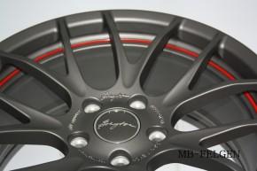 Breyton Race GTS-R 7,0x17 4-100 ET 40 Matt gun red circle undercut