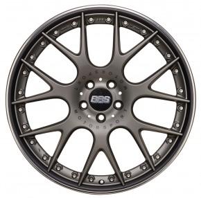 BBS CH-RII 9x21 5/108 ET 45 platinum/schwarz [ BBS CH612 ]
