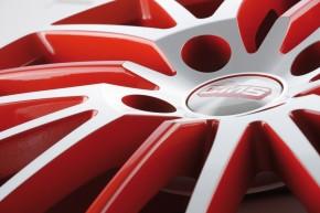 CMS C17 6x14 4/100 ET 35 Diamond Red Gloss