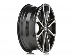 MSW X4 7x16 4/100 ET 37 GLOSS BLACK FULL POLISHED
